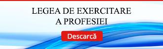 Legea de exercitare a profesiei